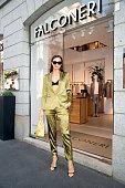 Irina Shayk Falconeri press day - Milan Fashion Week...