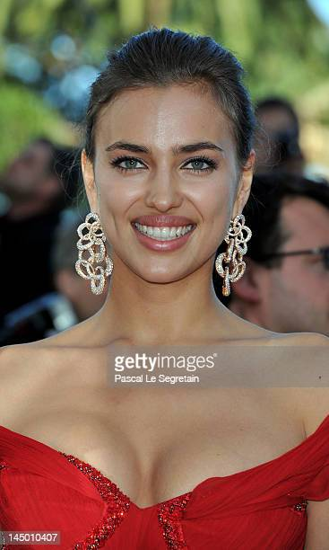 Irina Shayk attends the 'Killing Them Softly' Premiere during 65th Annual Cannes Film Festival at Palais des Festivals on May 22 2012 in Cannes France