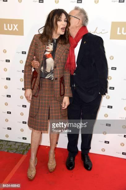 Iris Berben and Dieter Kosslick attend the Cinema 'delphi LUX' opening on September 6 2017 in Berlin Germany