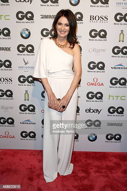 Iris Berben arrives at the GQ Men of the Year Award 2014 at Komische Oper on November 6 2014 in Berlin Germany