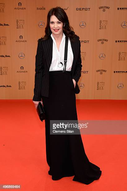 Iris Berben attends the Bambi Awards 2015 at Stage Theater on November 12 2015 in Berlin Germany