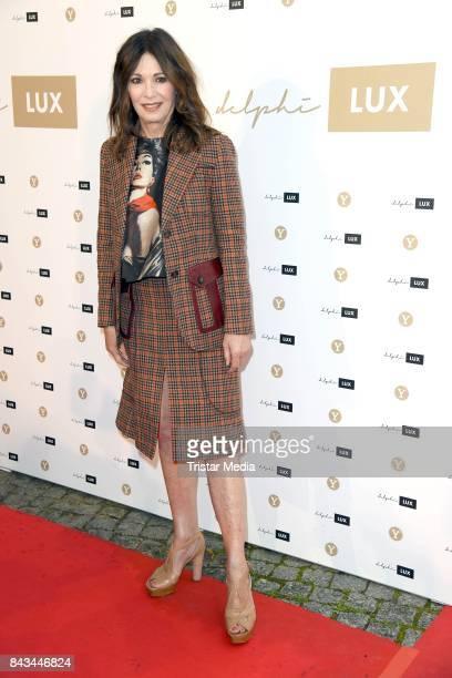 Iris Berben attends the Cinema 'delphi LUX' opening on September 6 2017 in Berlin Germany