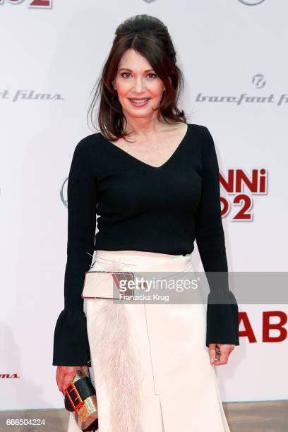 Iris Berben attends the 'Conni Co 2 Das Geheimnis des TRex' premiere on April 9 2017 in Berlin Germany