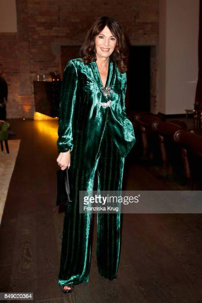Iris Berben attends the First Steps Award 2017 at Hotel Zoo on September 18 2016 in Berlin Germany