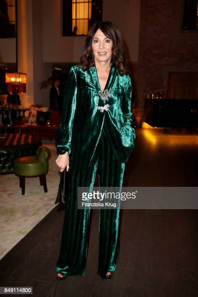 Iris Berben attends the First Steps Award 2017 at Hotel Zoo on September 18 2017 in Berlin Germany