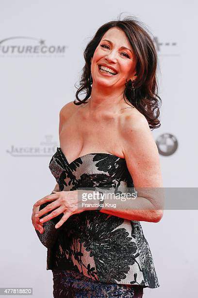Iris Berben attends the German Film Award 2015 Lola at Messe Berlin on June 19 2015 in Berlin Germany