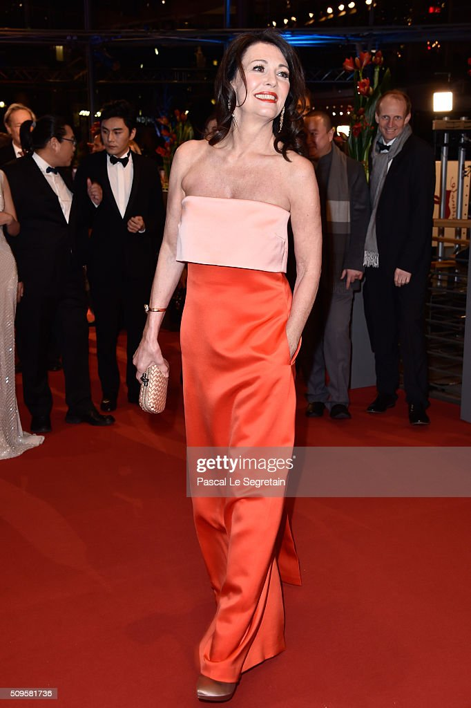 <a gi-track='captionPersonalityLinkClicked' href=/galleries/search?phrase=Iris+Berben&family=editorial&specificpeople=226774 ng-click='$event.stopPropagation()'>Iris Berben</a> attends the 'Hail, Caesar!' premiere during the 66th Berlinale International Film Festival Berlin at Berlinale Palace on February 11, 2016 in Berlin, Germany.