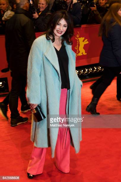 Iris Berben attends the 'Logan' premiere during the 67th Berlinale International Film Festival Berlin at Berlinale Palace on February 17 2017 in...
