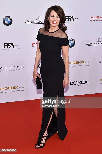 Iris Berben attends the Lola German Film Award on May 27 2016 in Berlin Germany