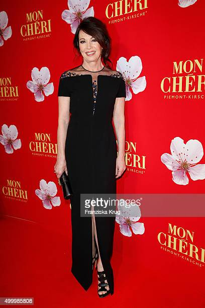 Iris Berben attends the Mon Cheri Barbara Tag 2015 at Postpalast on December 4 2015 in Munich Germany
