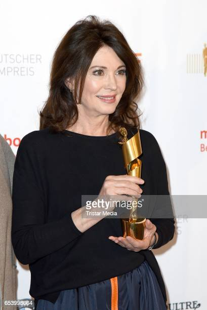Iris Berben attends the nominees announcement for the Lola German film award at Deutsche Kinemathek on March 16 2017 in Berlin Germany The German...
