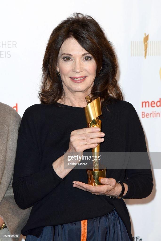 Iris Berben attends the nominees announcement for the Lola - German film award (Deutscher Filmpreis) at Deutsche Kinemathek on March 16, 2017 in Berlin, Germany. The German film award will take place on April 28, 2017.