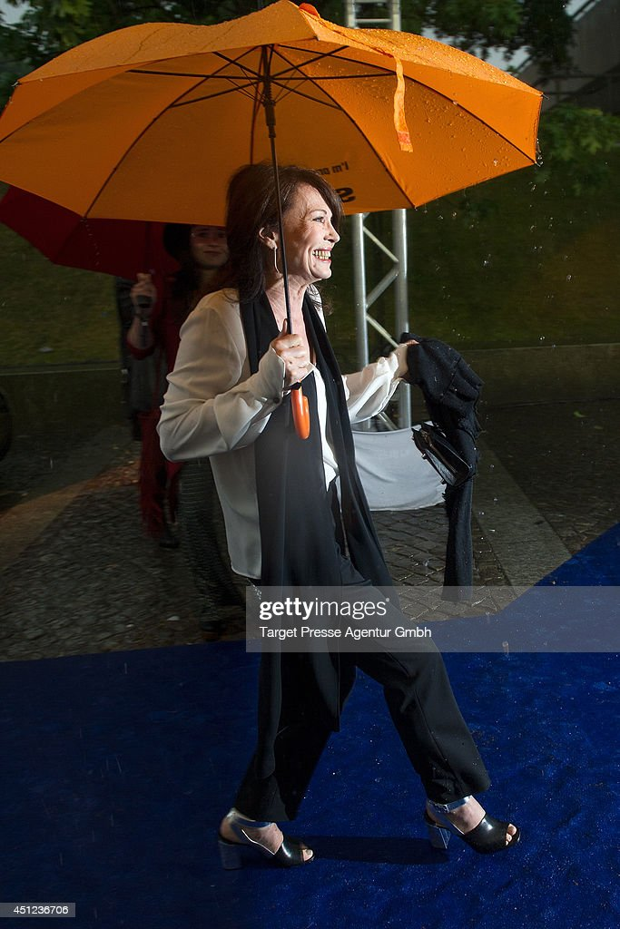 <a gi-track='captionPersonalityLinkClicked' href=/galleries/search?phrase=Iris+Berben&family=editorial&specificpeople=226774 ng-click='$event.stopPropagation()'>Iris Berben</a> attends the producer party 2014 (Produzentenfest) of the Alliance German Producer - Cinema And Television on June 25, 2014 in Berlin, Germany.