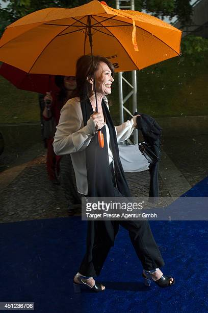 Iris Berben attends the producer party 2014 of the Alliance German Producer Cinema And Television on June 25 2014 in Berlin Germany