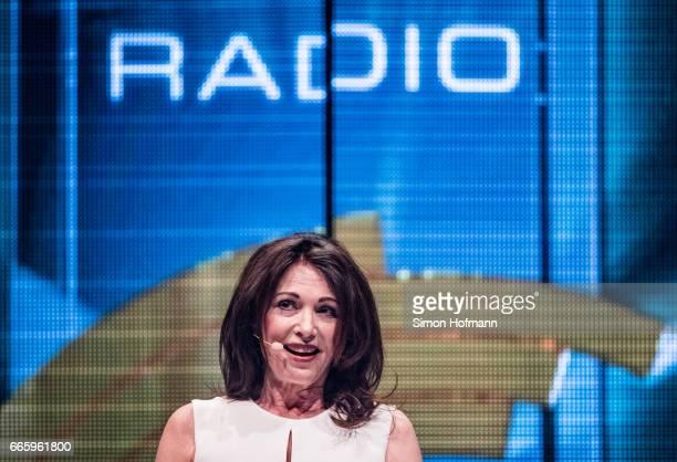 Iris Berben attends the Radio Regenbogen Award 2017 at Europapark on April 7 2017 in Rust Germany