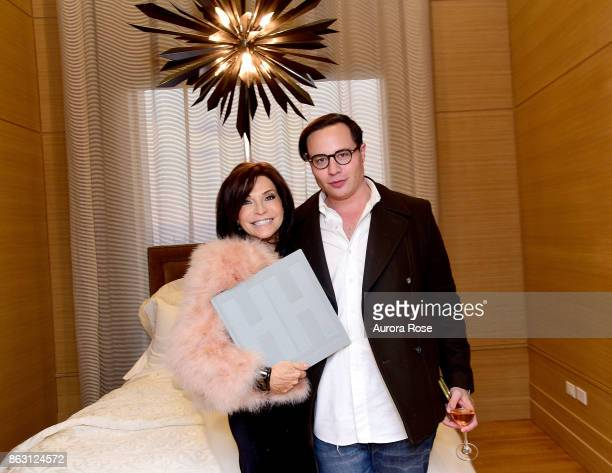Iris Dankner and Jared Seligman attend Iris Dankner and Frette Celebrate The KickOff Of Holiday House NYC And The Release Of The Anniversary Book '10...