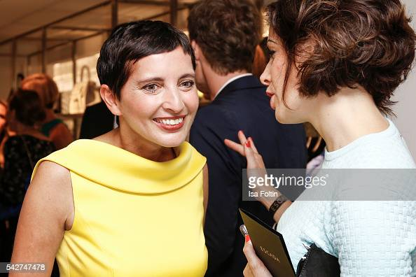 Iris Epple Righi CEO Escada attends the ESCADA Flagship Store Opening on June 23 2016 in Duesseldorf Germany