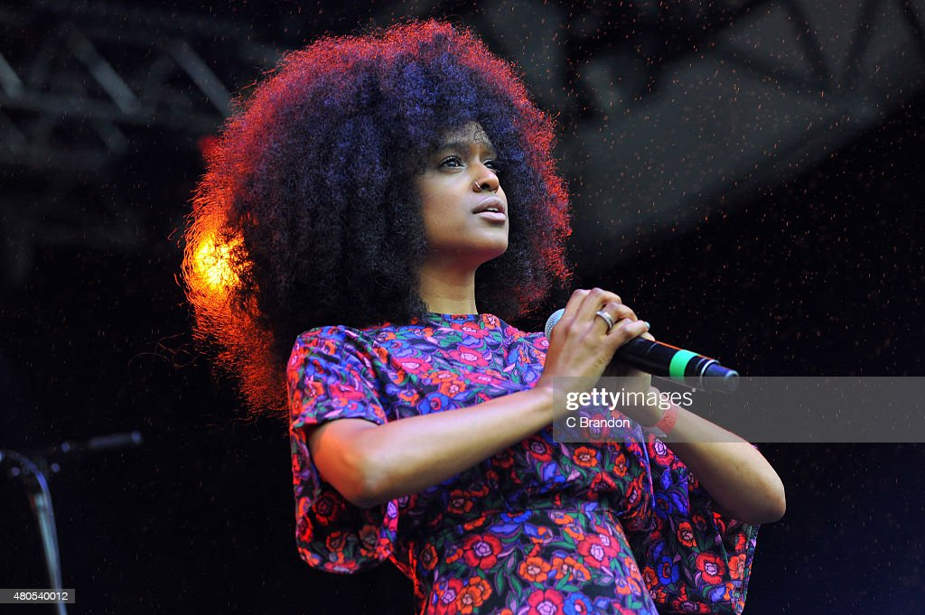 Iris Gold performs on stage during Kew The Music at Kew Gardens on July 12, 2015 in London, England.