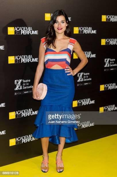 Iris Lezcano attends 'Academia del Perfume' awards 2017 at Teatro de la Zarzuela on May 22 2017 in Madrid Spain