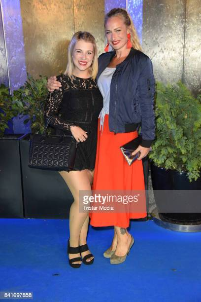 Iris Mareike Steen and Eva Mona Rodekirchen during the Alcatel Entertainment Night feat Music Meets Media at Sheraton Berlin Grand Hotel Esplanade on...