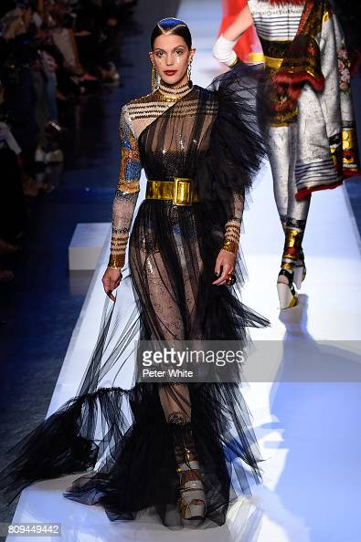 Iris Mittenaere - MISS UNIVERSE 2016 - Official Thread  - Page 3 Iris-mittenaere-walks-the-runway-during-the-jean-paul-gaultier-haute-picture-id809449442?s=594x594