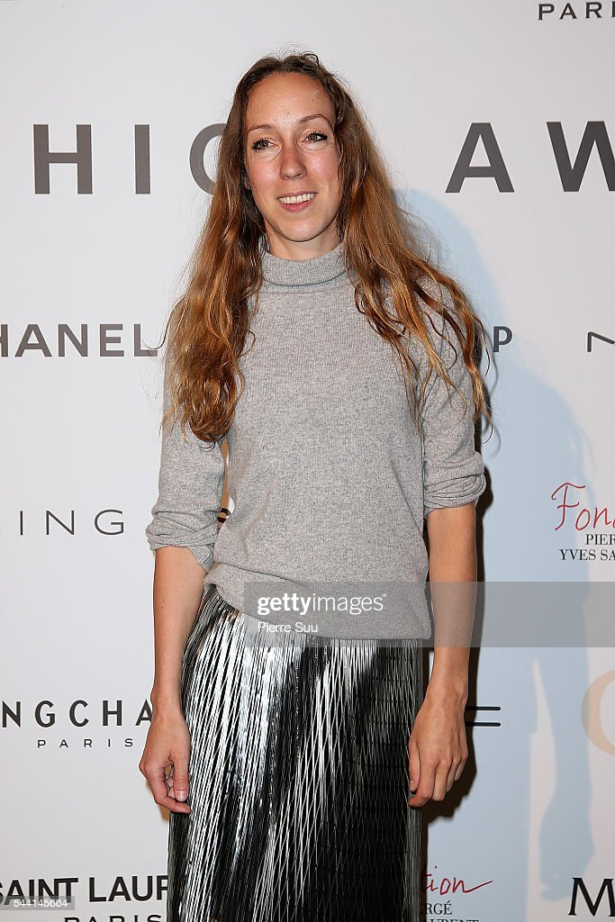 Iris Van Herpen attends the ANDAM Fashion Award Coktail Party at Ministere de la Culture on July 1, 2016 in Paris, France.
