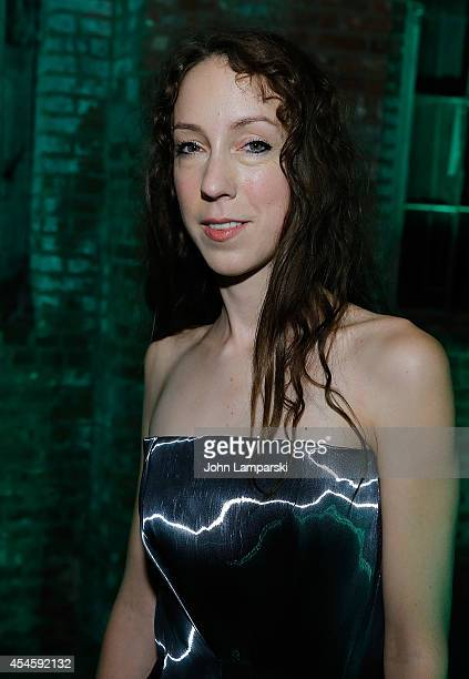 Iris Van Herpen attends the Dom Perignon Metamorphosis By Iris van Herpen Launch Party at Pioneer Works on September 3 2014 in New York City