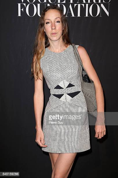 Iris Van Herpen attends the Vogue Foundation Gala 2016 at Palais Galliera on July 5 2016 in Paris France