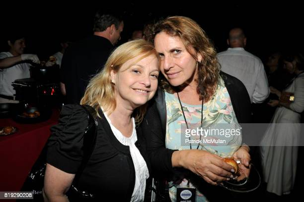 Iris Zimmerman and Sonya Moskowitz attend GODS LOVE WE DELIVERMid Summer Night Drinks Benefit at Home of Chad A Leat on June 19 2010 in Bridgehampton...