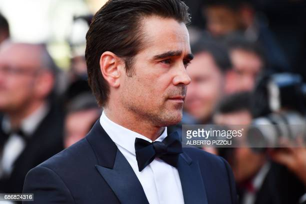 Irish actor Colin Farrell arrives on May 22 2017 for the screening of the film 'The Killing of a Sacred Deer' at the 70th edition of the Cannes Film...