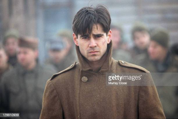 Irish actor Colin Farrell as Lieutenant Thomas Hart in a scene from the film 'Hart's War' 2002