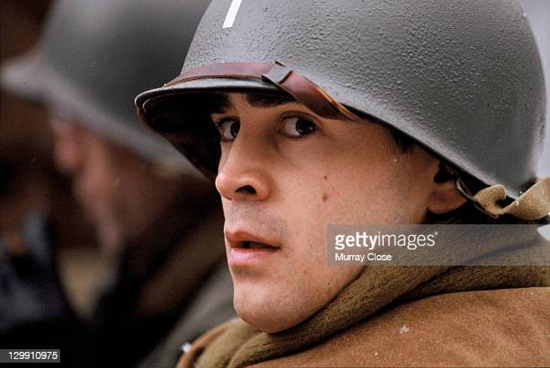 Irish actor Colin Farrell as Lieutenant Thomas Hart in a scene from the film 'Hart's War' 2002