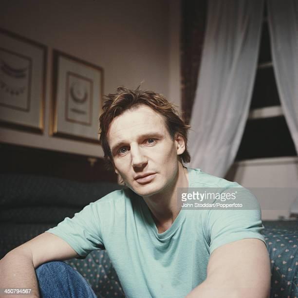 Irish actor Liam Neeson 1989