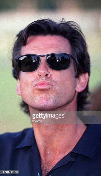 Irish actor Pierce Brosnan circa 1995