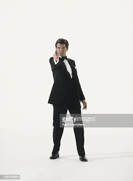 Irish actor Pierce Brosnan stars as James Bond circa 1997