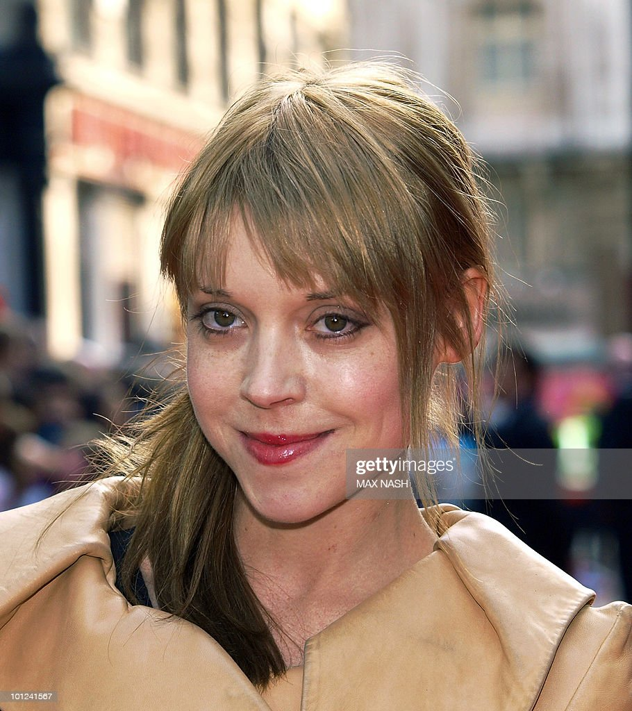 Irish actress Antonia Campbell Hughes arrives at the World Premiere of the film, '4.3.2.1' in London's Leicester Square on May 25, 2010. AFP Photo/MAX