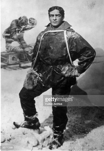 Irish Antarctic explorer Sir Ernest Henry Shackleton