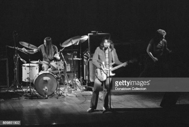 Irish blues singer Rory Gallagher perform at the Dome on December 11 1974 in Brighton England