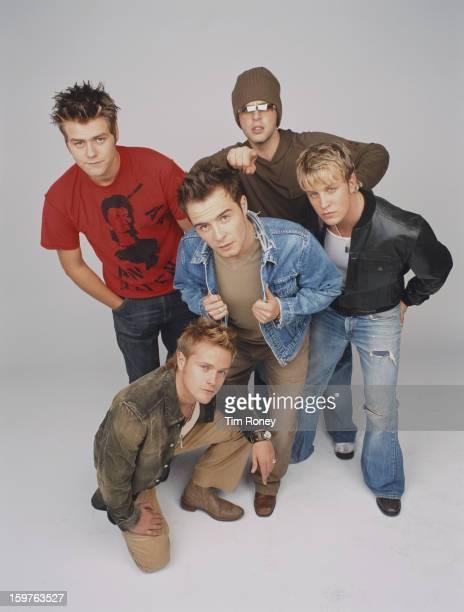 Irish boy band Westlife circa 2002 They are Nicky Byrne Kian Egan Mark Feehily Shane Filan and Brian McFadden