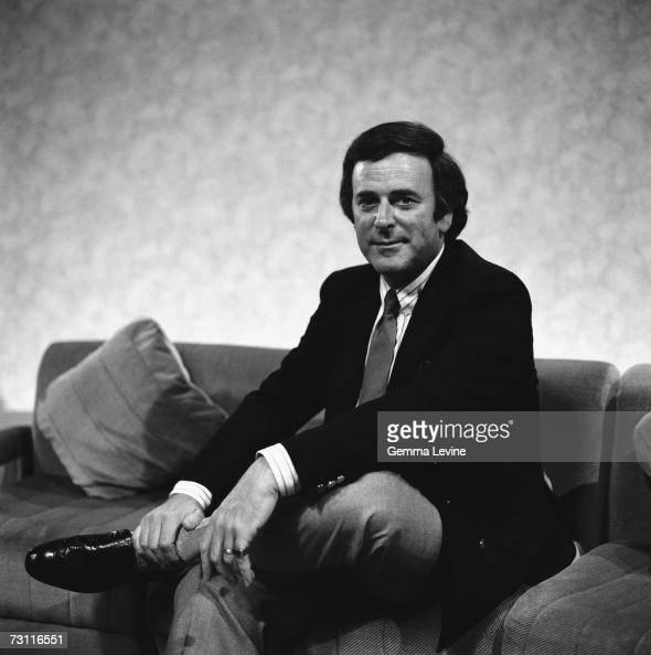 Irish broadcaster Terry Wogan circa 1987