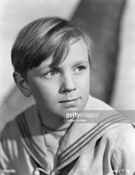 Irish child actor Peter Jones who plays the part of the young Michael in the film 'The Blue Lagoon' directed by Frank Launder for Individual