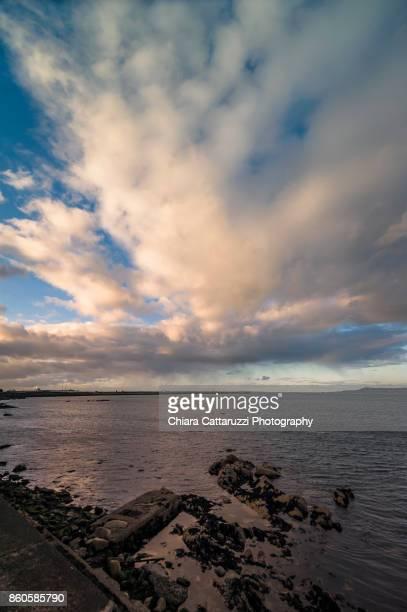 Irish cloudy sky