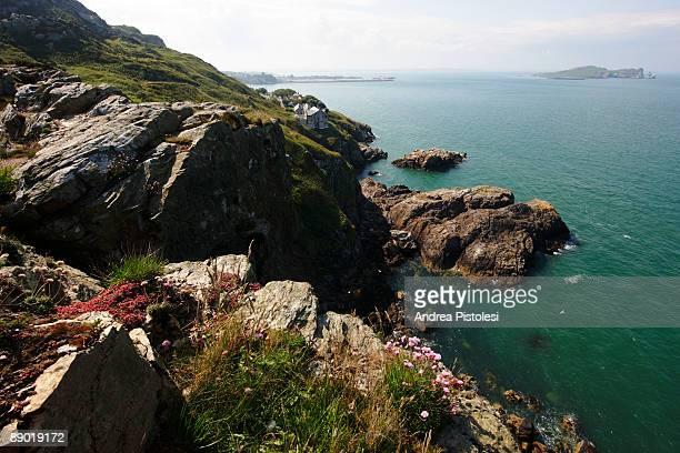 Irish coast in Howth