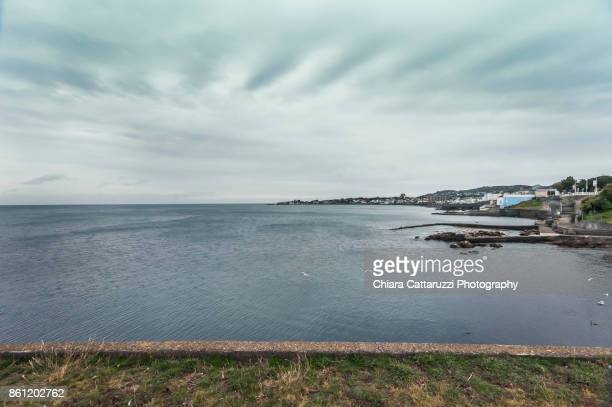 Irish coastline landscape