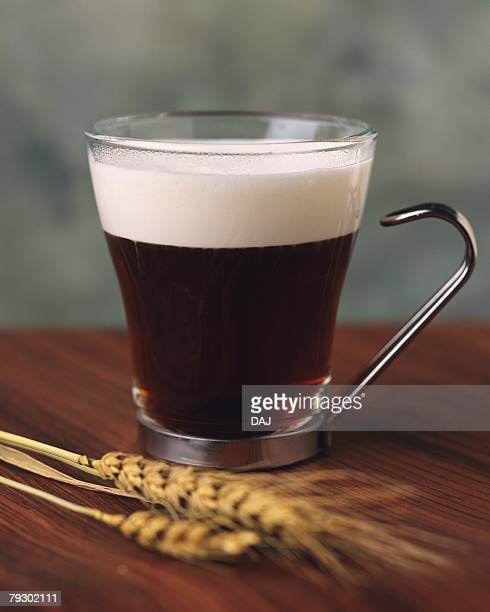 Irish Coffee and Oats, Full Frame, Differential Focus, Front View
