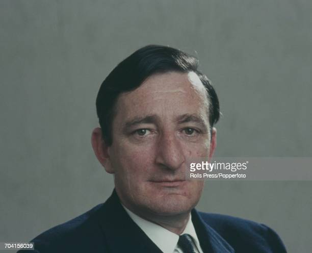 Irish Fianna Fail politician Minister for Agriculture and Fisheries and TD for CarlowKilkenny Jim Gibbons pictured in Dublin Ireland in June 1971