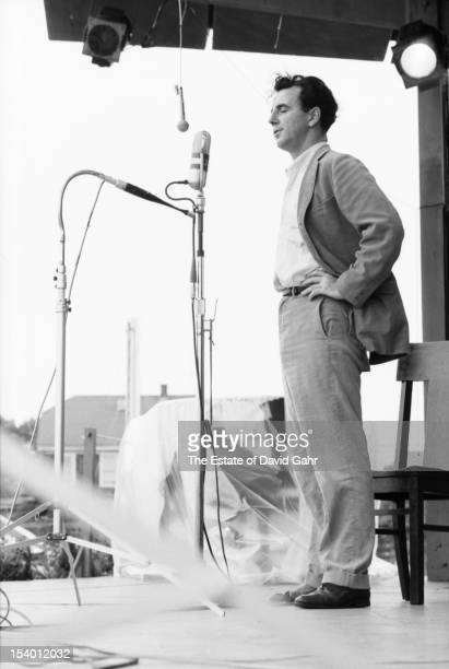 Irish folksinger Patrick Clancy performs at the Newport Folk Festival in July 1959 in Newport Rhode Island Patrick Clancy is best known as a member...