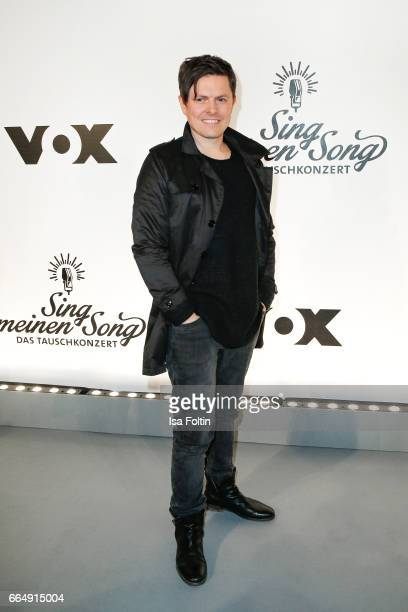 Irish musician and member of the band 'The Kelly Family' Michael Patrick Kelly alias Paddy Kelly during the 'Sing meinen Song' photo call on April 5...