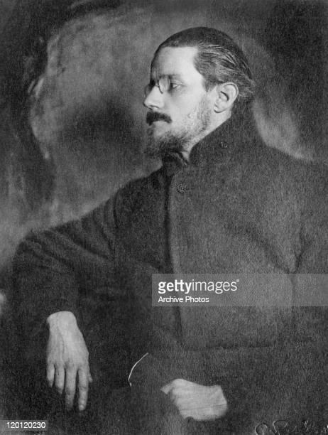 Irish novelist and poet James Joyce Zurich Switzerland circa 1918