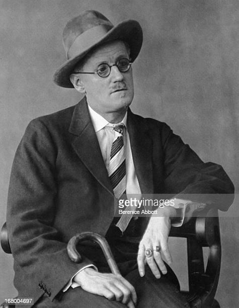 Irish novelist James Joyce 1928